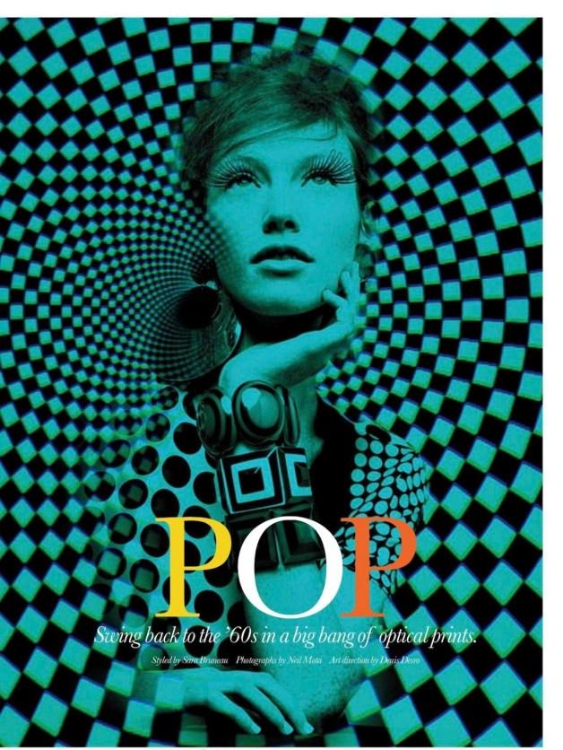 CHANTAL STAFFORD-ABBOTT IN 'POP' BY NEIL MOTA FOR ELLE CANADA MARCH 2013