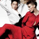 Edita Vilkeviciute in 'Asia Major' by Mario Testino V Magazine