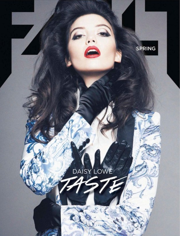 daisy lowe fault magazine cover