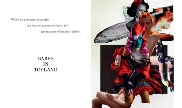 babes in toyland love magazine