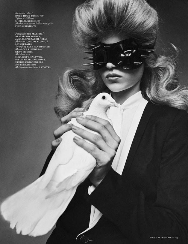 Ola Rudnicka for Vogue Netherlands 21