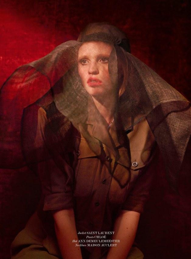 Lara Stone by Sean & Seng for 032c Magazine 10