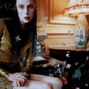 Edie Campbell & Kate Moss 'Wizard' by Tim Walker for Love 22