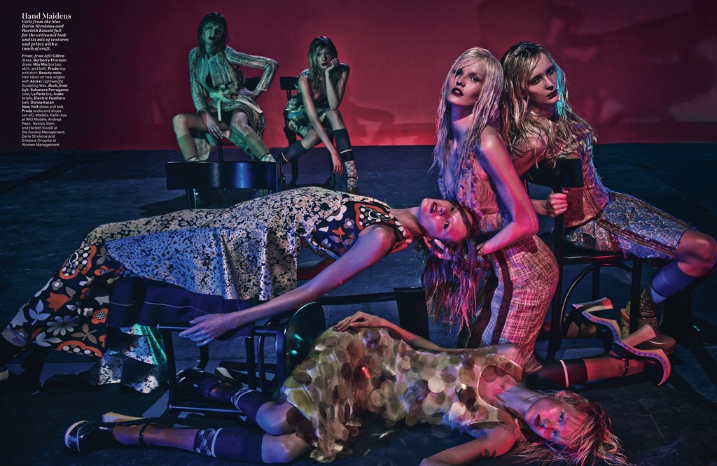 Steven Klein For La Clique Cest Chic In W Magazine