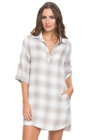 Blouse mini dress by Elan. Buy it online at http://Fashion-Crossroads-Inc.shoptiques.com