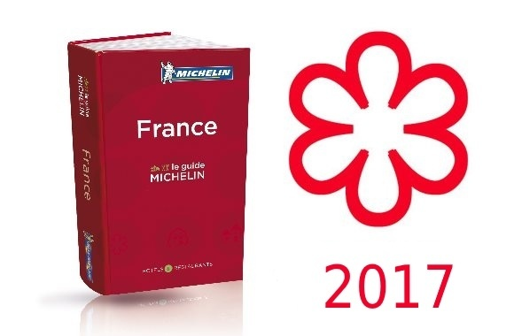 Guide Michelin Etoiles 2017