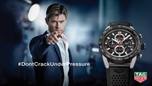Tag Heuer - Chris Hemsworth, Don't crack under pressure
