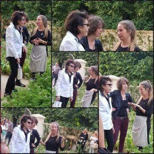 Jardins, Jardin aux Tuileries Paris - 2018 - Chanel avec Dani et sa fille