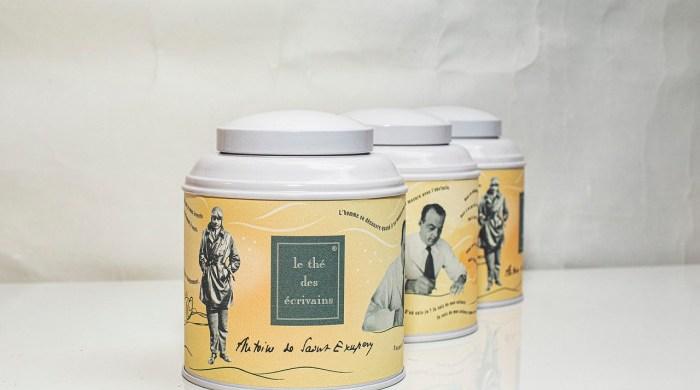 Le thé des écrivains Antoine de Saint Exupéry