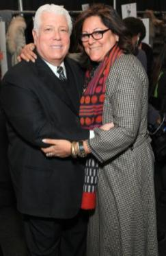 designer-DENNIS-BASSO-with-FERN-MALLIS-backstage-fall2011-fashion-week-on-FDM-photo-publicist