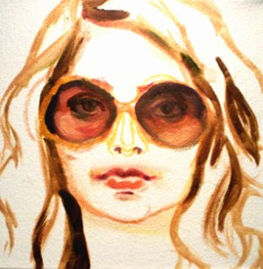 FASHIONDAILYMAG ILLUSTRATION BY Alaina Plowdrey on fashiondailymag.com brigitte segura