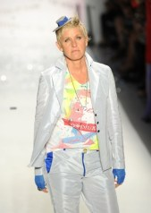 A model walks the runway at the Richie Rich Spring 2011 fashion show during Mercedes-Benz Fashion Week at The Studio at Lincoln Center on September 9, 2010 in New York City.