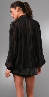 PHILOSOPHY-di-ALBERTA-FERRETTI-pleated-chiffon-BLOUSE-in-BLACK-WE-LOVE-ON-FDM-www.fashiondailymag.com-