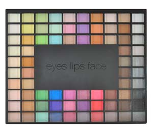 E.L.F. eye palette 100pcs for $10 on Fashiondailymag.com brigittesegura