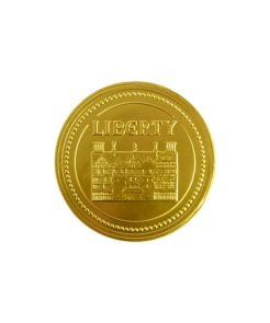 GOLD-CHRISTMAS-CHOCOLATE-COIN-at-liberty