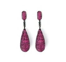 Meus-Pink-SapphireTeardrop-Earrings-on-www.fashiondailymag.com-brigitte-segura