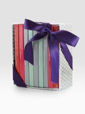 VOSGES-HAUT-chocolat-holiday-mini-candy-bar-library-in-HOME-for-the-holidays-on-fashion-daily-mag1