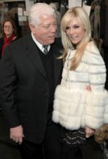 designer-DENNIS-BASSO-backstage-with-TINSLEY-MORTIMER-fall-2011-photo-courtesy-of-publicist-on-fashiondailymag
