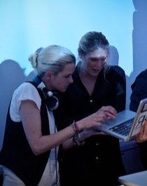 DJ-samantha-ronson-with-alexandra-richards-at-NAVYBOOT-photo-image.net-on-FashionDailyMag