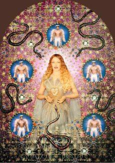 GAULTIER-by-Pierre-et-Gilles-La-Vierge-Kylie-Minogue-photo-Courtesy-Galerie-me-de-Noirmont-Paris-at-MMFA-on-FDM