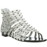 GIUSEPPE-ZANOTTI-white-strappy-studded-flats-IN-SWIM-on-vol-4-on-FashionDailyMag.com-brigitte-segura