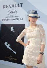 Atelier Renault Photo Call on the Majestic beach of the 64th Cannes Film Festival