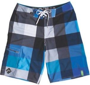 RUSTY-goombah-eco-stretch-blue-checked-board-shorts-in-FashionDailyMag-mens-swim-guide-2011-by-brigitte-segura