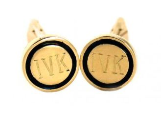 HAND-ENGRAVED-enamel-cuff-links-at-bario-neal-on-FashionDailyMag