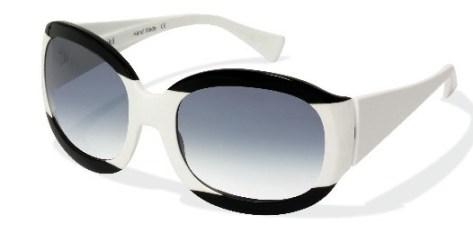 BLACK and WHITE theme alain mikli glasses on FashionDailyMag