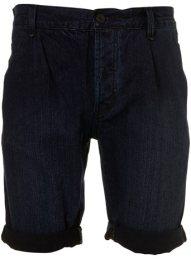 Topshop-Dark-Wash-Pleat-Denim-Shorts-on-www.fashiondailymag.com-by-Brigitte-Segura
