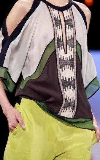 BCBG spring 2012 MBFW FashionDailyMag sel 3 photo valerio NowFashion