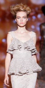 Badgley Mischka - Runway - Spring 2012 Mercedes-Benz Fashion Week