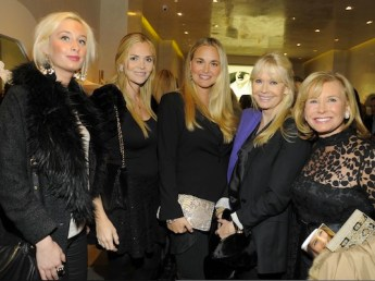 Amanda Eggers, Veronica Hayden, Vanessa Trump Hayden, Bonnie Hayden & Sharon Bush at WEITZMAN on FashionDailyMag