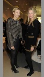Blair Husain + Mary Snow at STUART WEITZMAN 5ave on FashionDailyMag