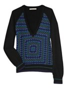 CHRISTOPHER KANE crochet cashmere sweater NaP FashionDailyMag cashmere for the holidays
