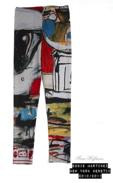 MARA HOFFMAN EDDIE MARTINEZ collab art basel fashiondailymag