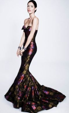ZAC POSEN prefall 2012 FashionDailyMag sel look 24 brigitte segura
