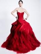 ZAC posen pre-fall 2012 FashionDailyMag look 33sel brigitte segura