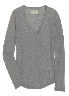 ZADIG & VOLTAIRE cashmere sweater NaP in just CASHMERE FDMLOVES