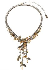 swarovski CRYSTALLIZED holiday necklace FOREST FRUIT