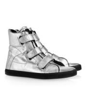 KARL metallic high top sneaks FashionDailyMag loves copy