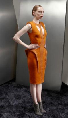 BASIL SODA AW 2012 RTW FashionDailyMag sel tangerine PFW