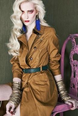 spring fierce editorial stylist dixi romano model anu koski 3 on FashionDailyMag