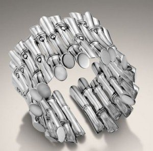 JOHN HARDY bamboo collection cluster flex cuff FashionDailyMag earth friendly