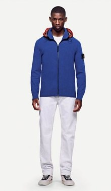 STONE ISLAND spring 2012 white + blue men
