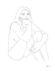 the female form exhibit untitled by NATASHA LAW at bortolami gallery NYC FashionDailyMag loves