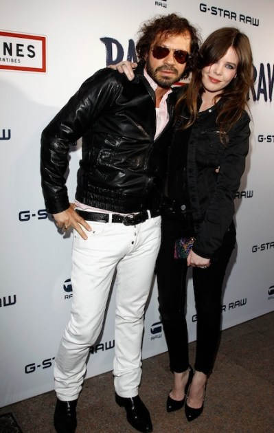 Olivier Zahm and Lou Lesage at G-Star RAW Store Opening - 65th Annual Cannes Film Festival on FashionDailyMag