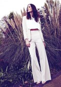 REISS occasion spring summer 2012 white layered FashionDailyMag loves