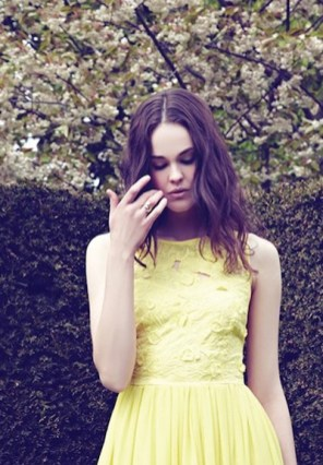 REISS occasion spring summer 2012 yellow dress FashionDailyMag loves