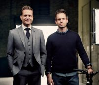 GABRIEL-MACHT-AND-PATRICK-JAMES-BACKSTAGE-SUITS-ON-FASHIONDAILYMAG